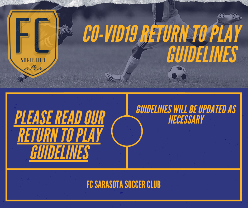 RETURN TO PLAY COVID-19 GUIDELINES